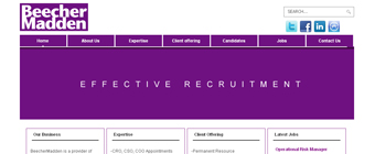 BeecherMadden - Effective recruitment