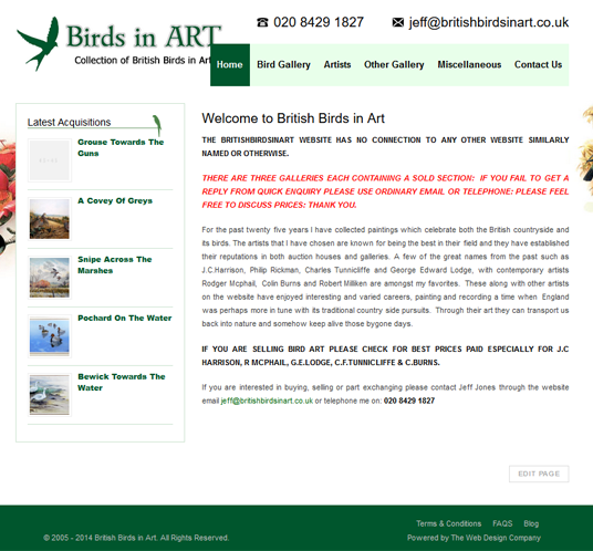 British Birds in Art