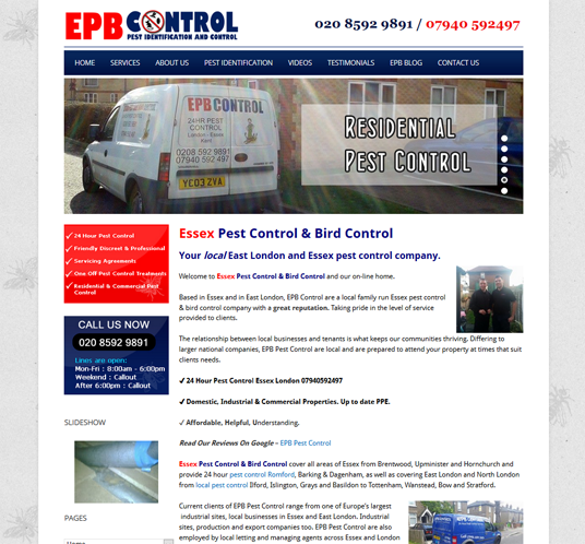 Essex Pest Control & Bird Control